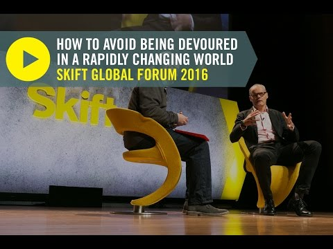 Former Starwood CEO Frits van Paasschen at Skift Global Forum 2016