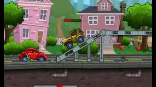 CAR EATS CAR-6 LEVEL 4-5 GAME WALKTHROUGH | CAR RACING GAMES