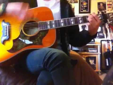Jimmy Eat World - Hear You Me Acoustic Guitar Cover