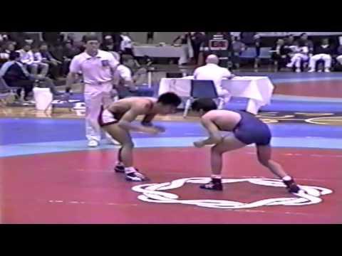 1993 World Cup: 52 kg Kimikazu Sato (JPN) vs. Zeke Jones (USA)