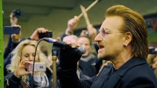 Zum Nikolaustag wurde es leider etwas voller in der U2. Zum Glück s...
