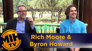 Rich Moore & Byron Howard Interview Zootopia