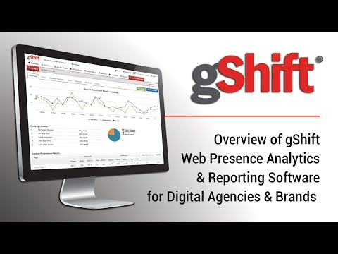 gShift Web Presence Analytics Software for SEO