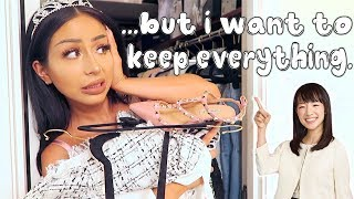 SHOPAHOLIC CLEANS HER CLOSET! (me lol)