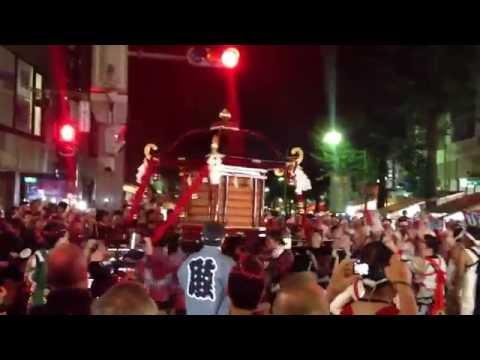 山口祇園祭 御還幸 御神輿 5  2015.7.27