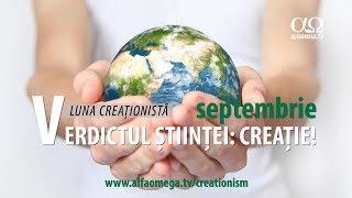 Septembrie - luna speciala despre Stiinta si creatie, unica in Romania, la Alfa Omega TV