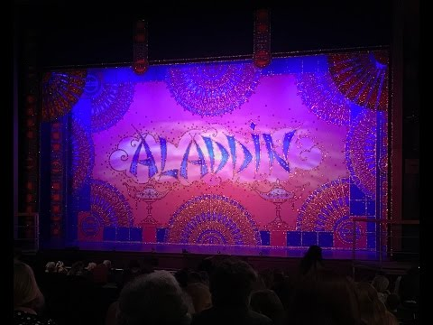 Aladdin Christmas Panto Stage Appearance - Aylesbury Waterside Theatre