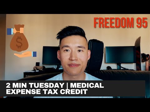 CLAIM Your Medical Expense Tax Credits   2 Minute Tuesday #1