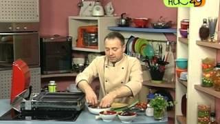 Газовый гриль: готовим маринованный лосось