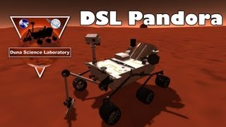 Kerbal Space Program - DSL Pandora (Curiosity rover)