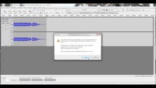 Comment couper une bande sonore avec audacity (mp3 ou autre ...) ?
