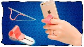 iPhone 7 КАК СДЕЛАТЬ ДЕРЖАТЕЛЬ - ПОДСТАВКУ ДЛЯ СМАРТФОНА СВОИМИ РУКАМИ DIY(, 2016-09-10T00:30:01.000Z)