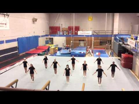 SUNY Cortland Cheerleading NCA Nationals Bid Video 2015-2016