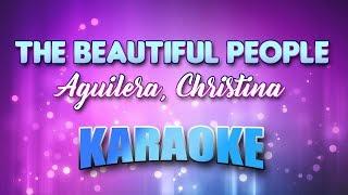 Aguilera, Christina - Beautiful People, The (Karaoke & Lyrics)