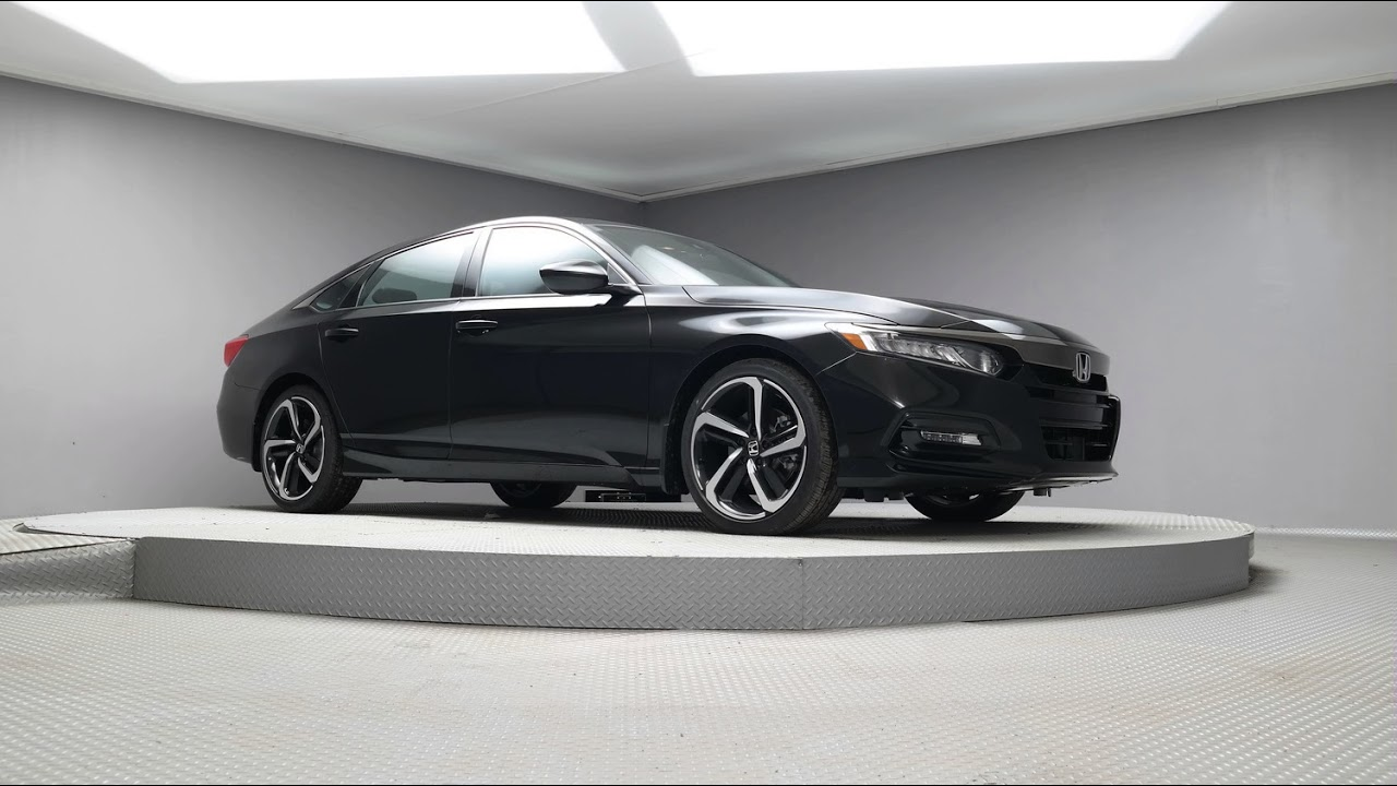 2018 Crystal Black Pearl Honda Accord 1 5t J035