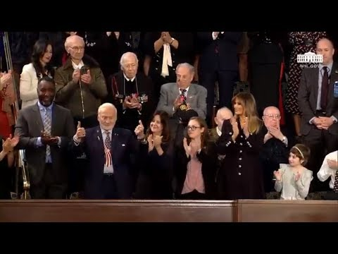 SOTU 2019: First Steps On Moon And Buzz Aldrin Applauded By Trump