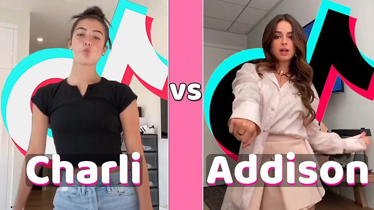 Charli D'amelio Vs Addison Rae TikTok (September 2020)