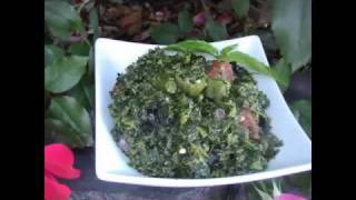 2012 Raw African Meals: Liberian Greens