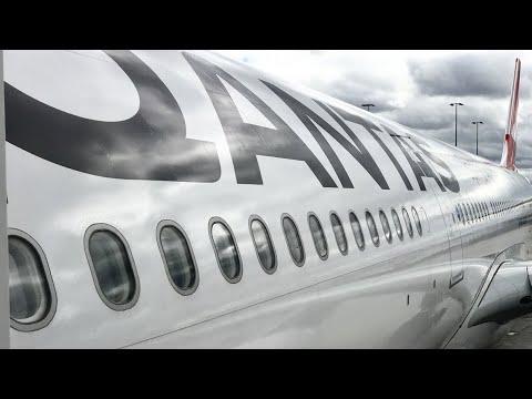 [QF29 MEL-HKG] Qantas NEW A330 ECONOMY class Melbourne to Hong Kong (2017)