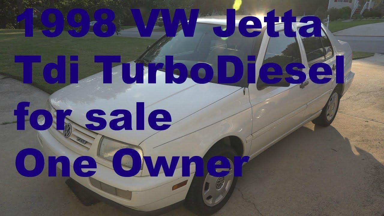 1998 VW Jetta Tdi Turbo Diesel for sale
