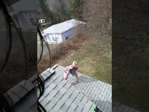 how to jump off the roof
