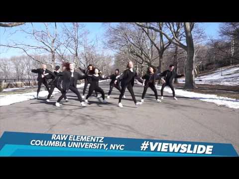 Raw Elementz Columbia University Rocks The #ViewSlide | The View