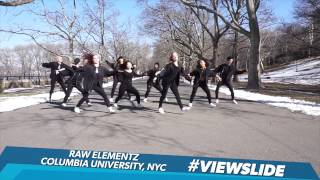 Raw Elementz Columbia University Rocks The #ViewSlide | The View