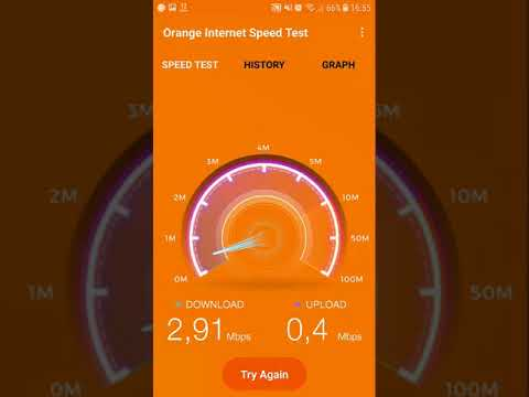 Orange Internet Speed Test