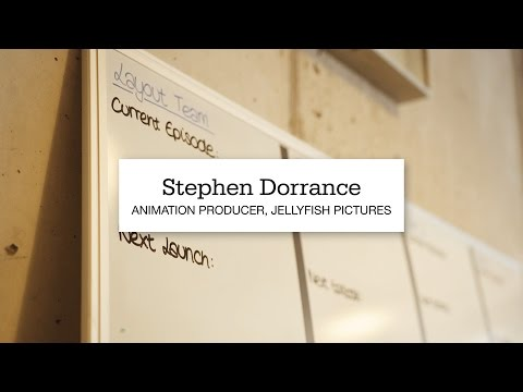 Stephen Dorrance, Animation Producer At Jellyfish Pictures