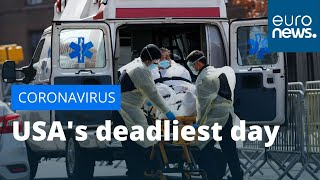 USA's deadliest day: country is the most affected in the world with nearly 400,000 confirmed cases