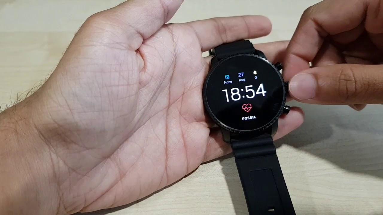 Fossil smartwatch gen 4 review