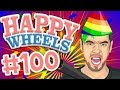 Happy Wheels Part 100 GRAND FINALE JACKSEPTİCEYE HD