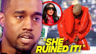 Kanye West Reveals How Kim Kardashian Destroyed His Family In New Song