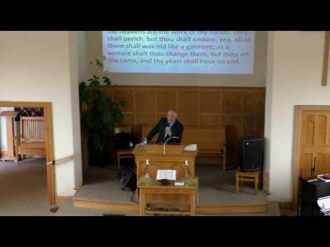 Pastor Moorhead - Unchanging