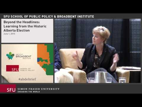 """""""Beyond the Headlines: Learning from the Historic Alberta Election"""""""