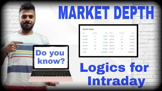 how to use market depth for Intraday trading !! Market Depth Trading Strategy IN HINDI