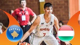 Kosovo v Hungary - CL 17-24 - Full Game - FIBA U16 European Championship Division B 2018 thumbnail