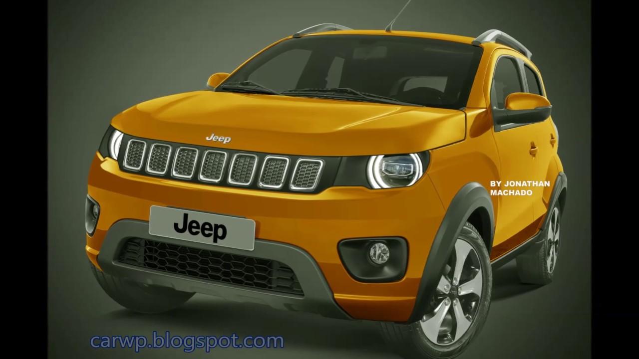 Render Novo Jeep Junior 2020 Mini Renegade Jeep Youtube