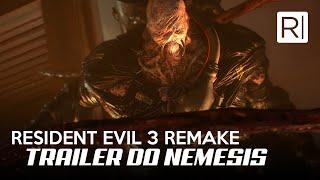 RESIDENT EVIL 3 REMAKE - TRAILER DO NEMESIS