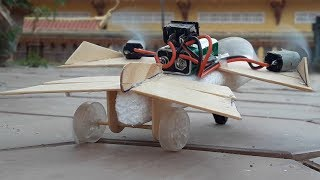 How to make an electric airplane foam