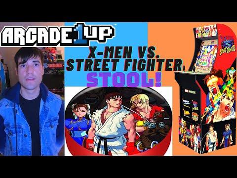 ARCADE1UP X-MEN VS STREET FIGHTER STOOL from Brick Rod