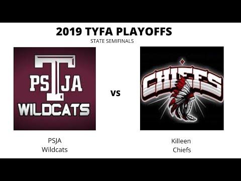 PSJA Wildcats Vs Killeen-Cove Chiefs