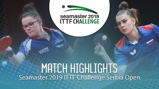 Дарья Шадрина vs Oceane Guisnel | Serbia Open 2019 (Group)