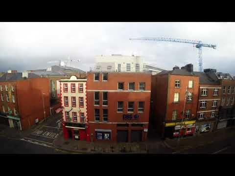 Ophelia in Dublin City Centre / Timelaps