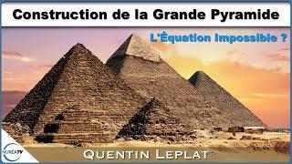 « Construction de la Grande Pyramide : L'équation impossible ? » avec Quentin Leplat - NURÉA TV