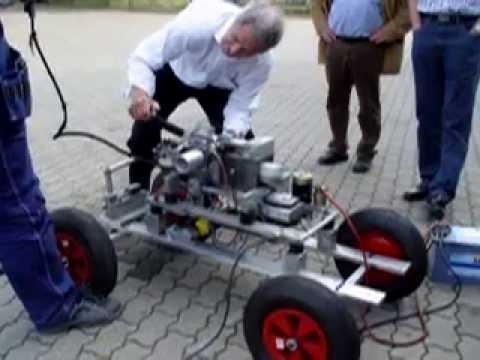 Stelzer Motor Frank Stelzer Bei Seine Letzte