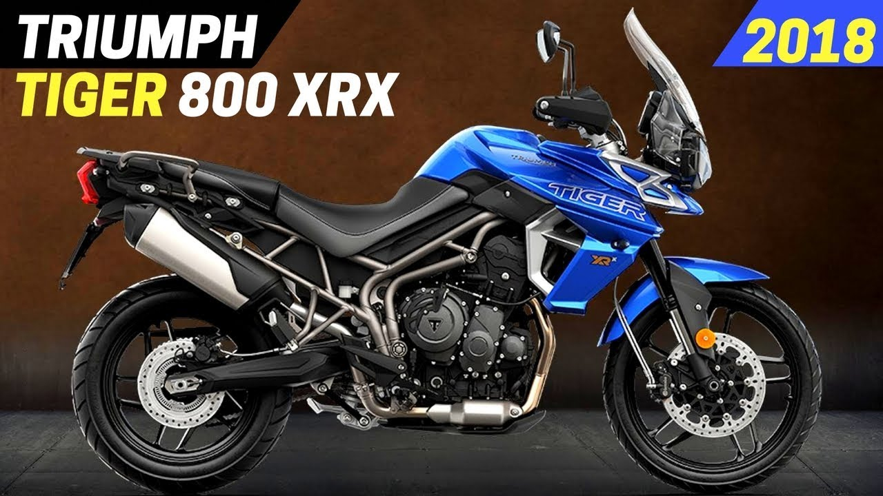 New 2018 Triumph Tiger 800 Xrx With The All New Youtube