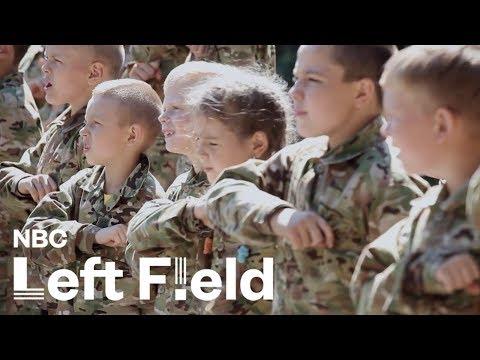 Inside Ukraine's Anti-Russian Military Summer Camp For Kids: NBC Left Field