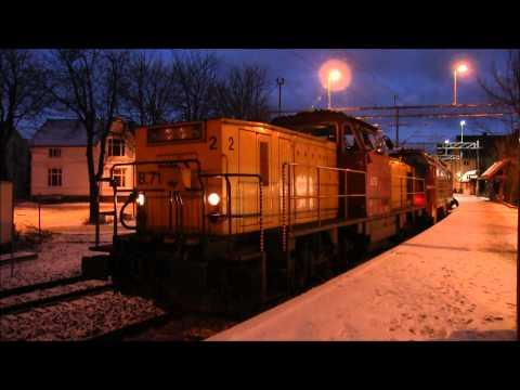 NSB Di 4 652 i Fredrikstad
