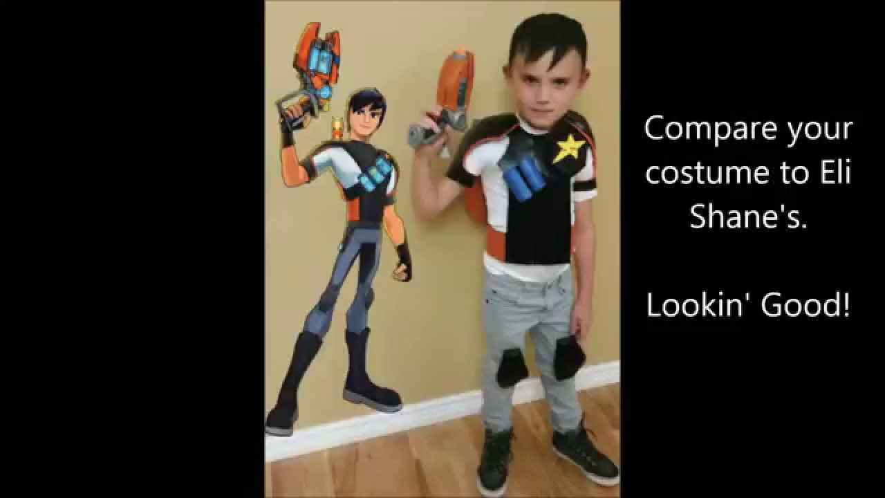 How to Create a foam armor Eli Shane Halloween Costume from Slugterra  sc 1 st  YouTube & How to Create a foam armor Eli Shane Halloween Costume from ...